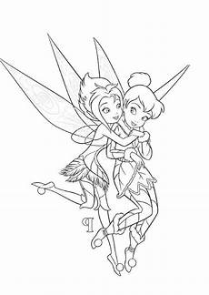 tinkerbell and periwinkle coloring pages coloring