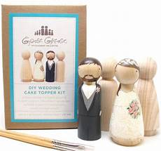 wedding cake toppers do it yourself kit peg doll goose grease