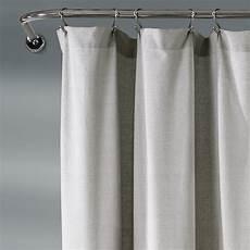 Linen Shower Curtain White