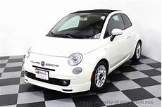 Fiat 500 Cabrio Gebraucht - 2012 used fiat 500 certified 500c pop convertible at