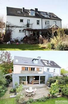 Haus Vorher Nachher Vorher Nachher Einfamilienhaus Erh 228 Lt Sanierung Und Erweiterung Umbau Renovierung Sanierung