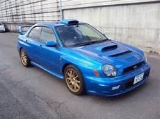 subaru impreza wrx sti 4wd turbo 2002 used for sale
