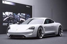 Porsche Takes Aim At Tesla With A Stunning Electric
