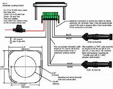 Boat Leveler Wiring Diagram by Automatic Level Products Lectrotab