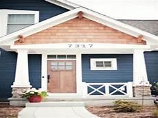 exterior house paint color for navy blue exterior paint color combinations craftsman