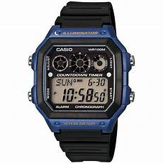 montre casio illuminator montre casio collection ae 1300wh 2avef montre