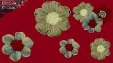 fiore con a fiore all uncinetto facile il quot puffiore quot tutorial
