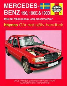 service and repair manuals 1993 mercedes benz 190e engine control mercedes benz 190 190e and 190d 1983 1993 haynes repair manual svenske utgava haynes