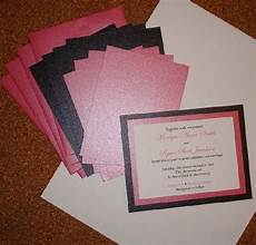 homemade wedding invites homemade wedding invitations