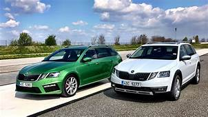 Skoda Octavia RS & Scout 2017 Test Driving