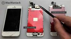 Comment Remplacer La Vitre Et L 233 Cran D Un Iphone 5