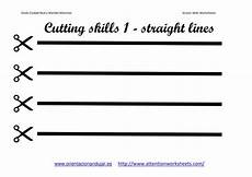 cutting skills printables worksheets collection attention worksheets