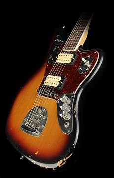 Fender Kurt Cobain Signature Jaguar Electric Guitar 3 Tone