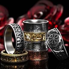viking rings custom made viking rune rings wedding rings and fashion bands made in gold
