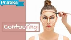 maquillage comment faire un contouring