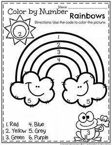color by number coloring pages for kindergarten 18051 march preschool worksheets planning playtime