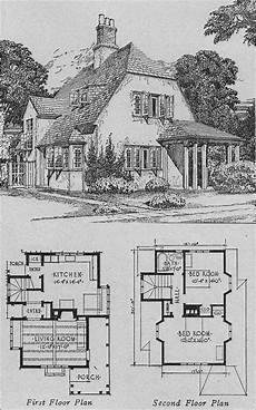 old english cottage house plans 1920s english cottage small homes books of a thousand