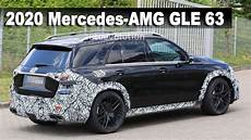all new 2020 mercedes amg gle 63 prototype