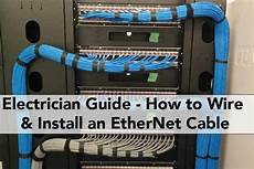 Electrician Guide How To Wire Install An Ethernet