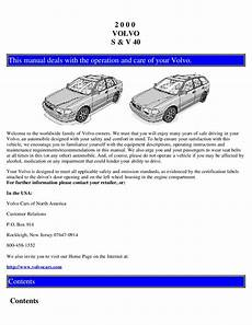 motor auto repair manual 2002 volvo v40 electronic toll collection 2000 volvo s40 v40 owners manual just give me the damn manual