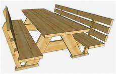 ratgeber holz picknick tisch bauanleitung