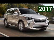 hyundai grand santa fe 2017 hyundai grand santa fe interior exterior and drive