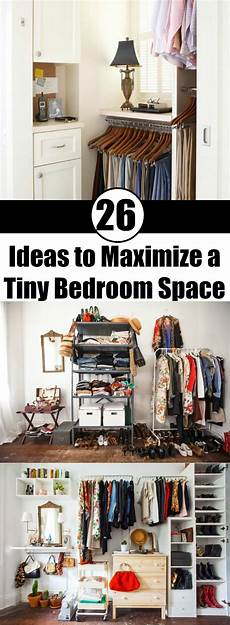 Small Space Small Bedroom Organization Ideas by 26 Ideas To Maximize A Tiny Bedroom Space Small Room