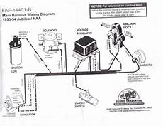 1953 ford car wiring diagram 1953 ford jubilee tractor wiring diagram