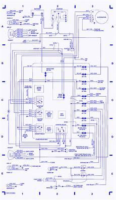 Isuzu 4wd Efi 1994 Electrical Circuit Wiring