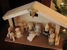 Inspirations Wooden Doll Nativity