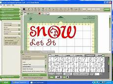 let it snow blocks with cricut tutorial food crafts and
