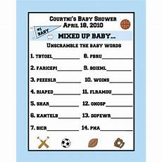 unscramble sports words worksheets 15892 24 personalized word scramble baby shower cards sports theme activities words and