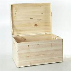 Holzbox Mit Deckel - holzfee holzkiste 40 x 30 x 24 aufbewahrungsbox deckel