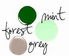 kitchen colors to compliment vintage mint and forest green