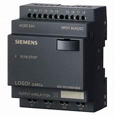 siemens 6ed1052 2hb00 0ba6 logo 6 sps programmable logic controller 24rco ac rapid online