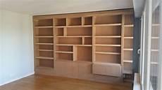 meuble en medium biblioth 232 que meuble tv et hi fi sur mesure en m 233 dium massif