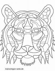 malvorlage tiermandala tiger tiere mandalas kostenlose