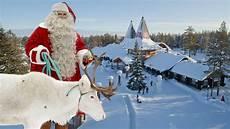 weihnachtsmanndorf in lappland vor weihnachten