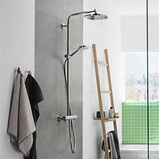 showerpipe crometta s 240 hansgrohe crometta s 240 1 jet showerpipe bathrooms