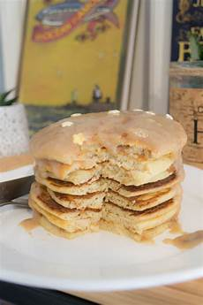 Pancakes Vegan Sans Gluten Et Caramel Healthy
