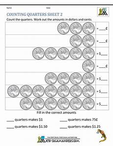 money worksheets canada