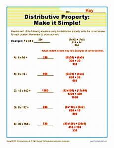 54 distributive property equations worksheet distributive