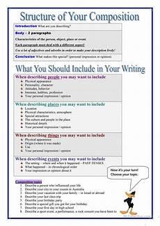 descriptive writing worksheet free esl printable worksheets made by teachers