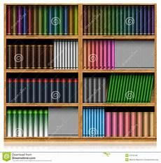 scaffale per libri scaffale per libri di legno isolato su bianco