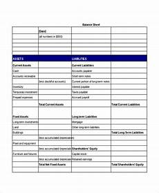 simple balance sheet 24 free word excel pdf documents download free premium templates