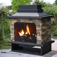 sunjoy sutton fire place outdoor living outdoor
