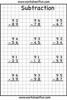 worksheets in subtraction with regrouping 10124 subtraction regrouping cursos de matematicas hojas de c 225 lculo fichas de matematicas