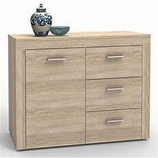 kommode sideboard highboard sonoma eiche 110 cm