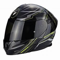 Casque Moto Modulable Scorpion Exo 920 Satellite Noir