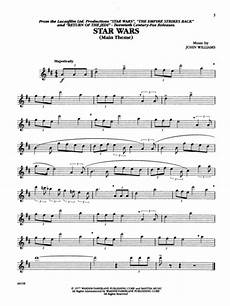 music from the star wars trilogy special edition alto sax sheet music by williams
